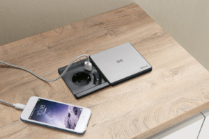 Steckdose mit USB-Charger